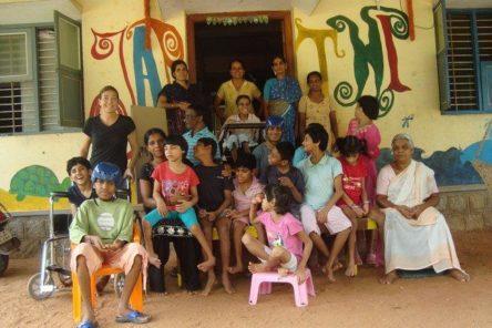 japithi tehuis voor gehandicapte kinderen
