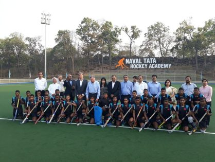 Official launch for Naval hockey cradle