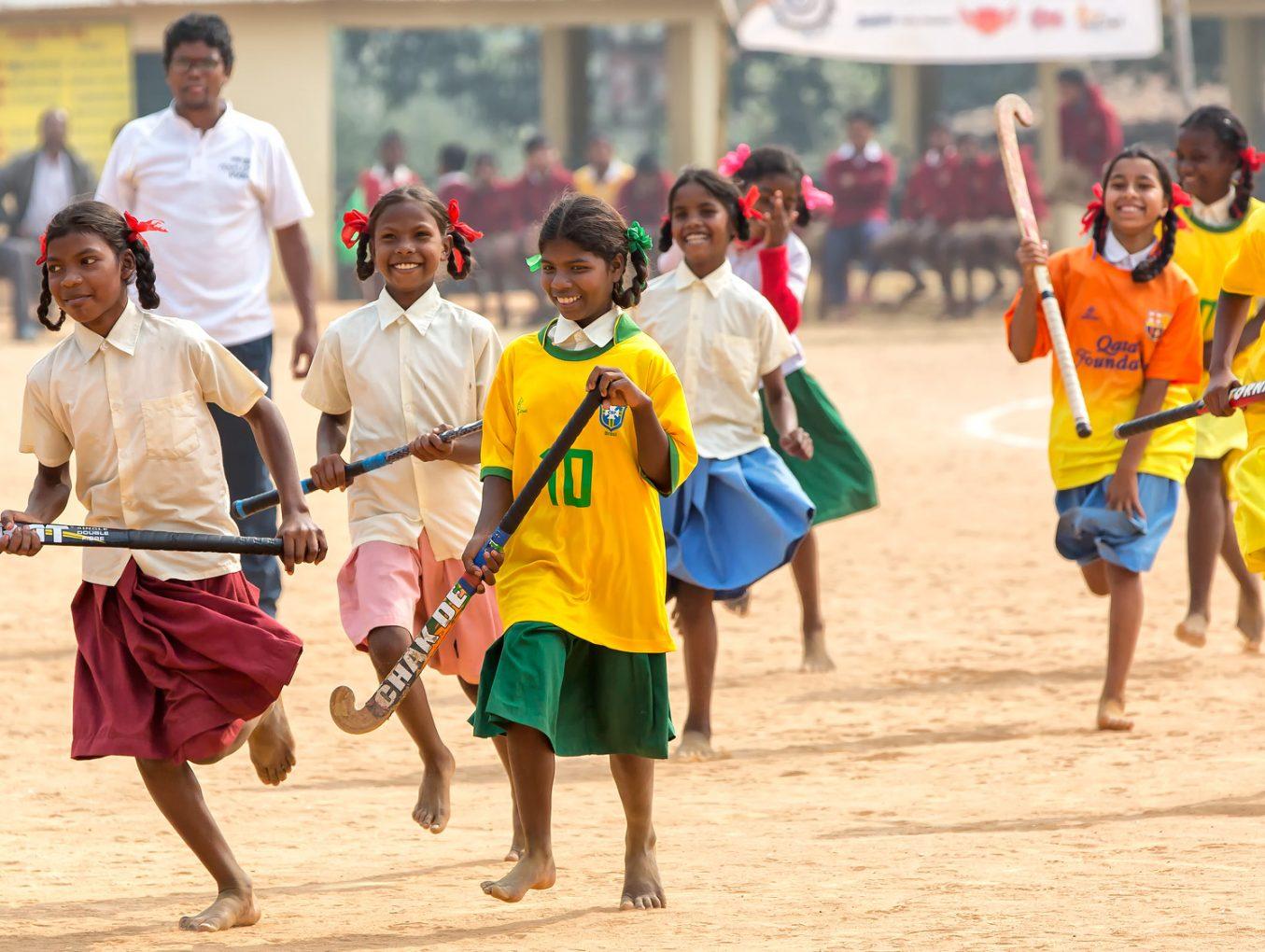 Hockey is in India nog een zanderige aangelegenheid