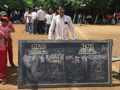 Memorable Mahindra school hockey tournament Nashik